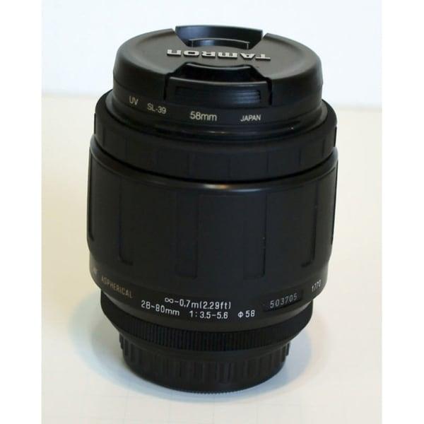 Tamron Zoom Wide Angle-Telephoto AF 28-80mm f/3.5-5.6 Aspherical Autofocus Lens for Pentax SLR Cameras