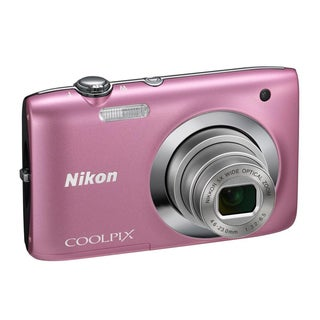 Nikon Coolpix S2600 14MP Pink Digital Camera