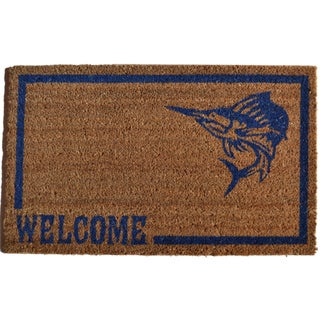 Swordfish Welcome Door Mat