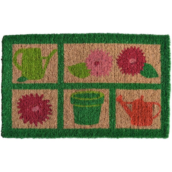 Garden Tools Welcome Mat