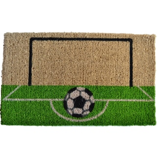 Soccer Field Door Mat