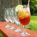 Custom Engraved Pilsner Goblets (Set of 4)
