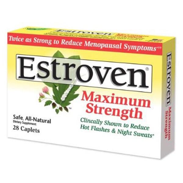 Estroven Maximum Strength 28 Caplets (Pack of 2)