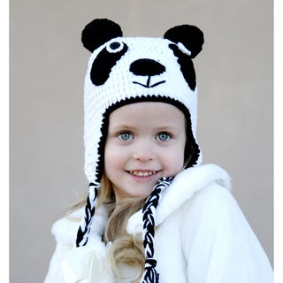 Knitnut Handmade Baby Panda Knit Hat