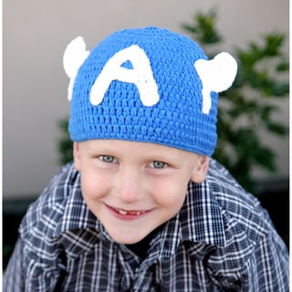 Handmade Superhero Knit Hat