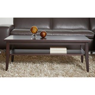 Espresso Wood Coffee Table