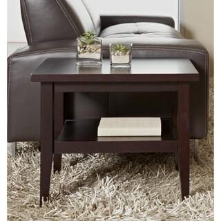 Jesper Office Espresso Wood Side Table
