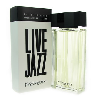 Yves Saint Laurent 'Live Jazz' Men's 3.3-ounce Eau de Toilette Spray