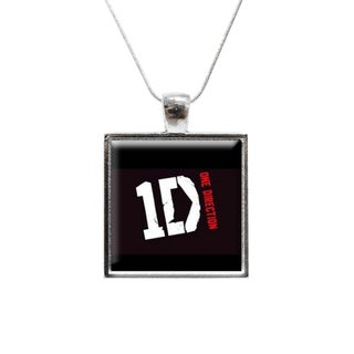 One Direction Glass Pendant and Necklace
