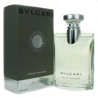 Bvlgari Pour Homme Men's 3.4-ounce Eau de Toilette Spray