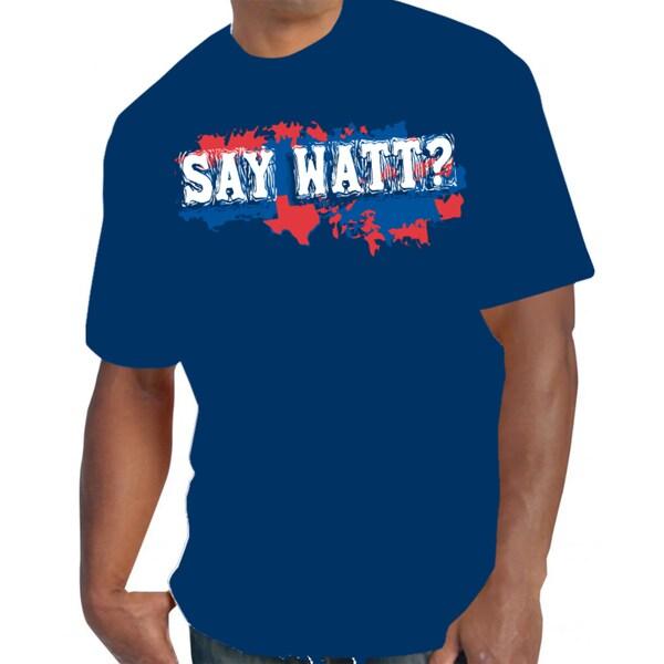 Men's 'Houston Say Watt?' T-Shirt