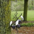 Les Prado Flock of Love Birds Fine Bone China/ Metal Hanging Decor (Philippines)