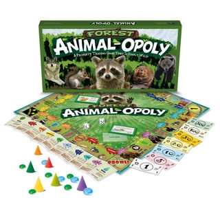 Late For The Sky 'Forest Animal Opoly'