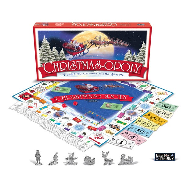 Late For The Sky 'Christmas-opoly' Board Game