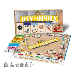Late For The Sky 'Do-it-Yourself-Opoly' Board Game