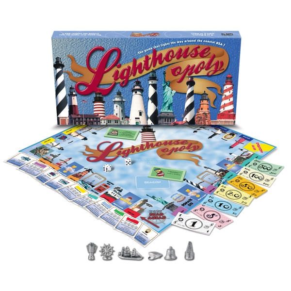Late For The Sky 'Lighthouse-opoly'