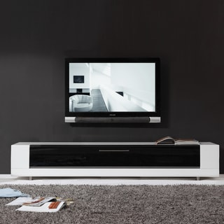 Roma Remix Infrared-remote Compatible White TV Stand