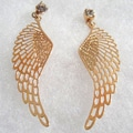 18k Angel Wings Earrings