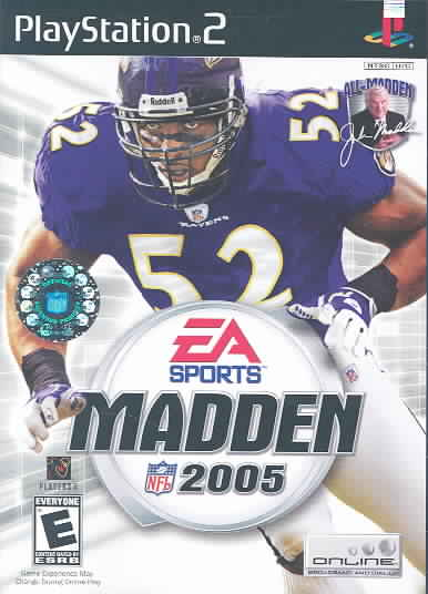 PS2 - Madden NFL 2005