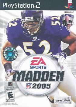 PS2 - Madden NFL 2005