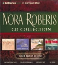 Nora Roberts CD Collection: Hidden Riches / True Betrayals / Homeport / The Reef (CD-Audio)