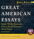 Great American Essays (CD-Audio)