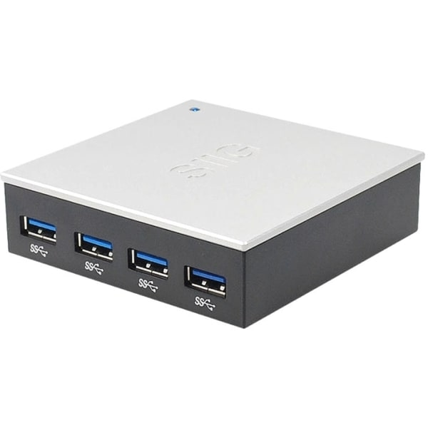 SIIG 4-Port USB 3.0 Hub with 5V/4A Adapter