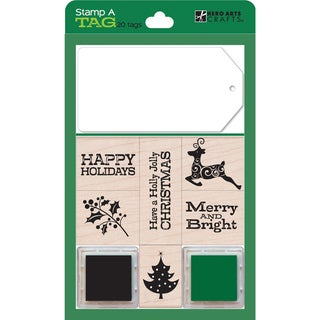 Hero Arts Stamp and Tag Boxed Set-Green