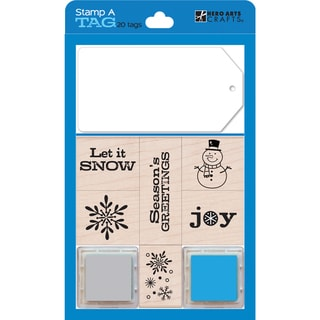 Hero Arts Stamp and Tag Boxed Set-Blue
