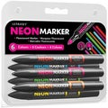 Letraset Neon Markers (Pack of 6)
