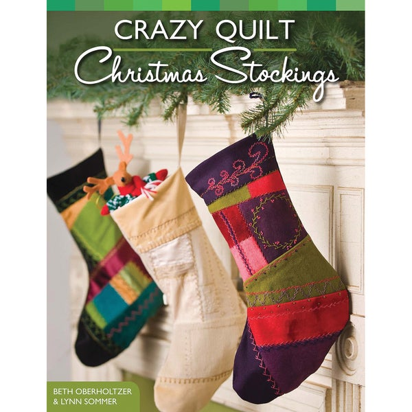 Design Originals-Crazy Quilt Christmas Stocking
