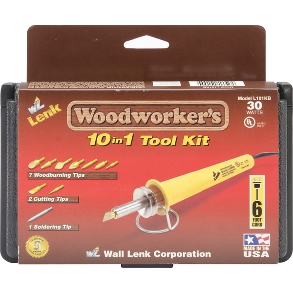Woodworkers 10-In-1 Tool Kit-