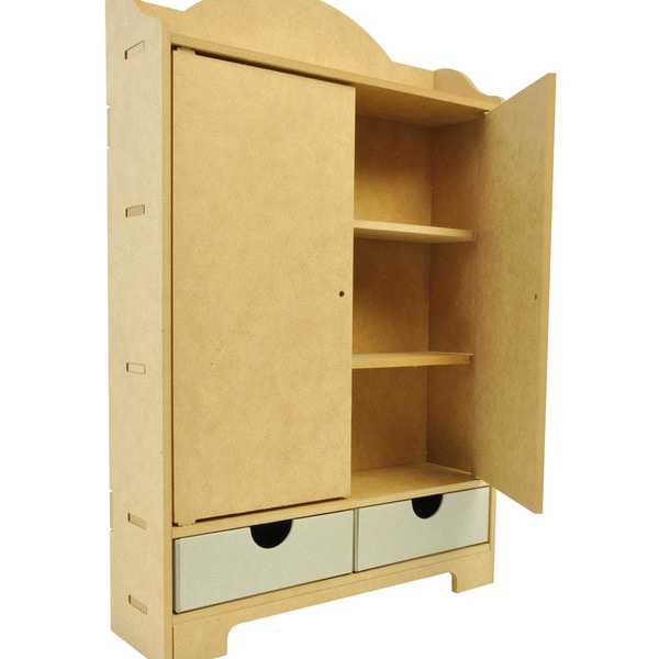 "Beyond The Page MDF Storage Cupboard-12.5""X19""X4"""