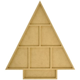 "Beyond The Page MDF Christmas Tree Photo Display-13""X14.5""X.5"""