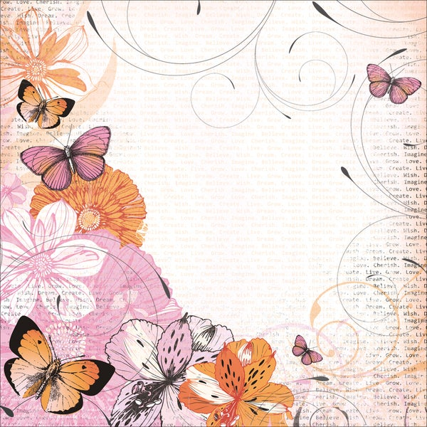 """Tigerlilly Postbound Album 12""""X12""""-10 Page Protectors"""