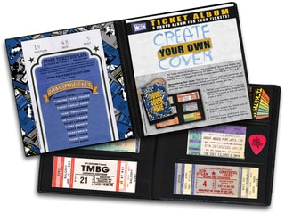 "That's My Ticket - Ticket Album 8-1/4""X8-3/4""-Create Your Own Cover"