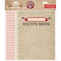 "Cook Recipe Book Album 8""X8""-"