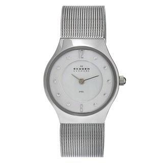 Skagen Women's Stainless Steel Crystal Watch