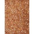 Modern Geometric Wool Tufted Rug F13 (2' x 3')