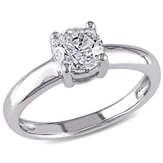 Miadora 14k Gold 1ct TDW Certified Diamond Solitaire Ring (G-H,I1-I2)