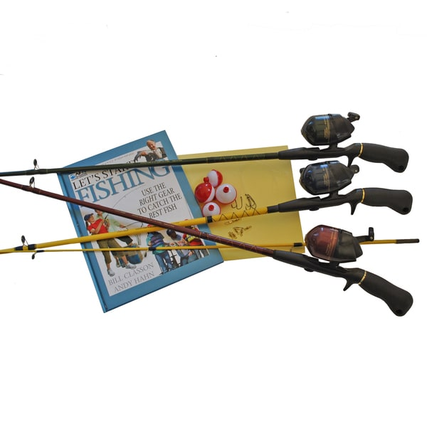 American Explorer Family Spincast Fishing Outfit