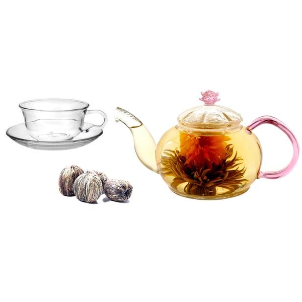 Tea Beyond Gift Set Premium Tea Combo Rejunivating Juliet with Cup Set
