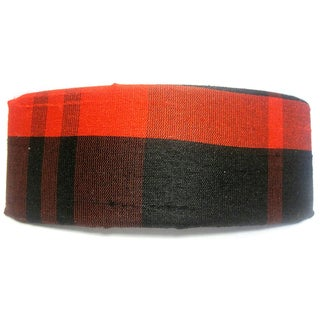 Crawford Corner Shop Red Black Plaid Barrette
