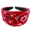 Crawford Corner Shop Red Bandana Headband