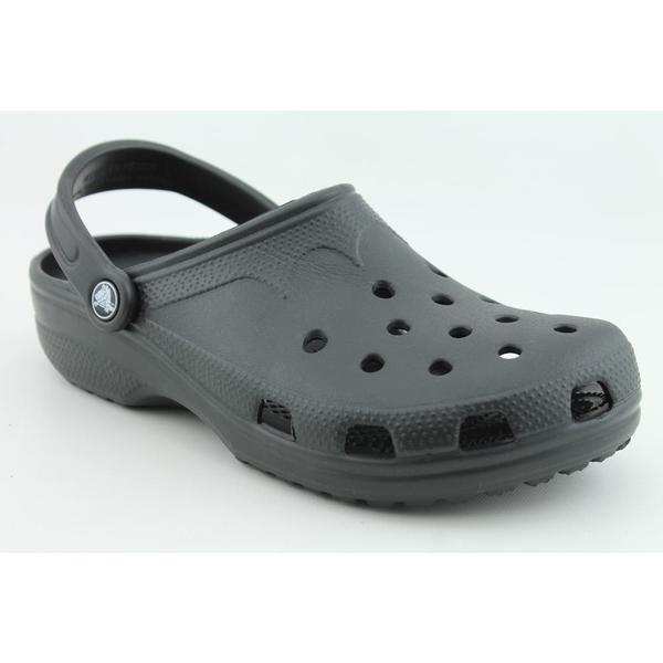 Crocs Men's 'Classic' Synthetic Casual Shoes (Size 7)