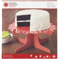 Cake Stand-Cottage Christmas