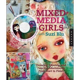 Quarry Books-Mixed Media Girls With Suzi Blu