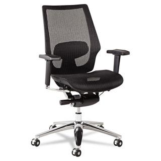 Alera K8 Series Ergonomic Multifunction Black Mesh Chair