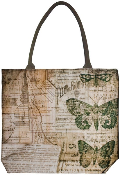 Idea-Ology District Market Tote-Crowded Attic