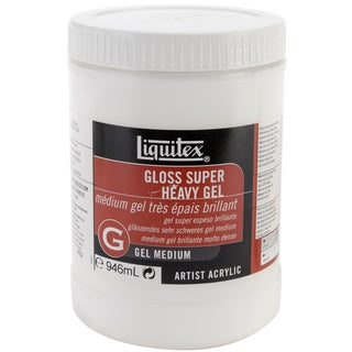 Liquitex Super Heavy Gloss Gel Medium-32 Ounces